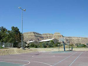 Samar, Israel - Sports field