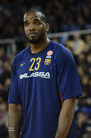 Samardo Samuels - Samuels with the FC Barcelona Lassa