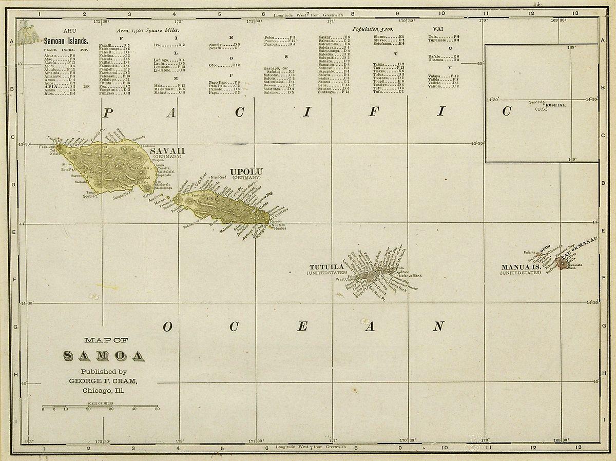 history of samoa wikipedia