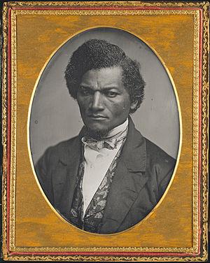 John H. Clifford - Frederick Douglass, daguerreotype c. 1850