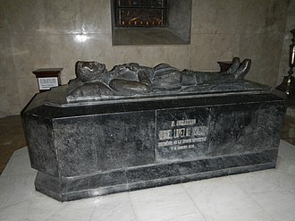 History of the Philippines (1521–1898) - Tomb of Miguel López de Legazpi in San Agustin Church (Manila) Intramuros