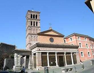 San Giorgio in Velabro - The church of San Giorgio in Velabro.