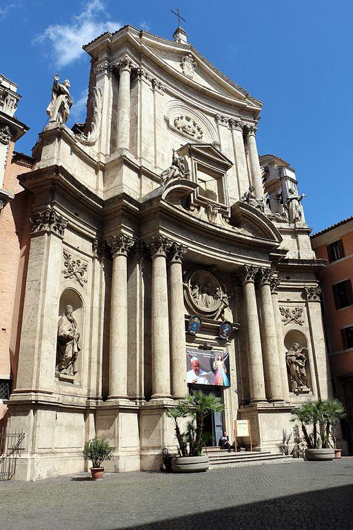 File san marcello al corso facciata di carlo fontana - Corso di design roma ...
