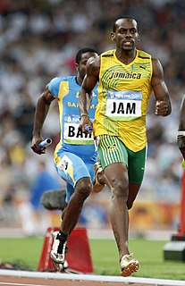Sanjay Ayre Jamaican sprinter
