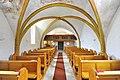 Sankt Georgen a L Lausdorf Pfarrkirche Mariae Himmelfahrt Kirchenschiff mit Orgelempore 12032013 118.jpg