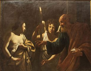 Saint Agatha's Vision of Saint Peter in Prison
