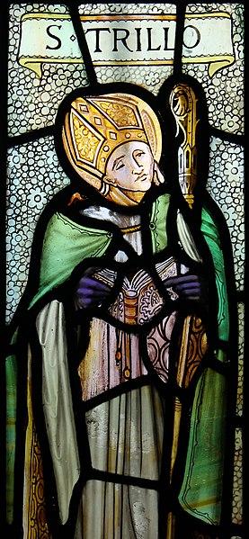 File:Sant Trillo St Trillo Betws yn Rhos Conwy Gogledd Cymru North Wales 20.JPG