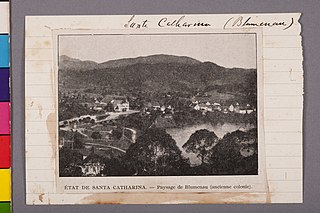 Santa Catharina (Blumenau) - État de Santa Catharina. - Paysage de Blumenau (Ancienne Colonie)