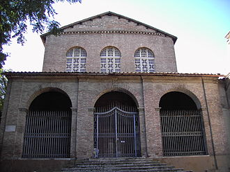 Santa Balbina - The façade of Santa Balbina