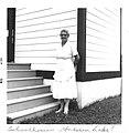 Sarah Lavalley Golden Lake schoolhouse Sept 1956.jpg