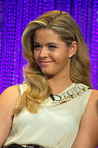 Sasha Pieterse at Pretty Little Liars PaleyFest 2014.jpg