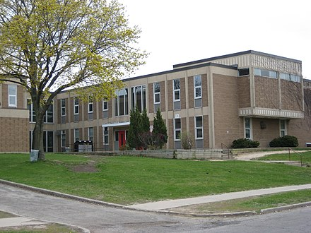 Ford was born in Etobicoke, where he attended Scarlett Heights Collegiate. Scarlett Heights Entrepreneurial Academy.JPG