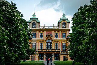 Schloss Favorite, Ludwigsburg German Baroque pleasure palace