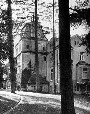 Friedrichsruh - Friedrichsruh manor, 1915