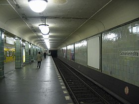 Image illustrative de l'article Schönleinstraße (métro de Berlin)