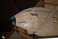 Schulgleiter SG-38 Zögling Primary Glider D-8182 LNose SATM 05June2013 (14597431531).jpg