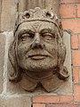 Sculpted face on Shrewsbury railway station - geograph.org.uk - 786248.jpg