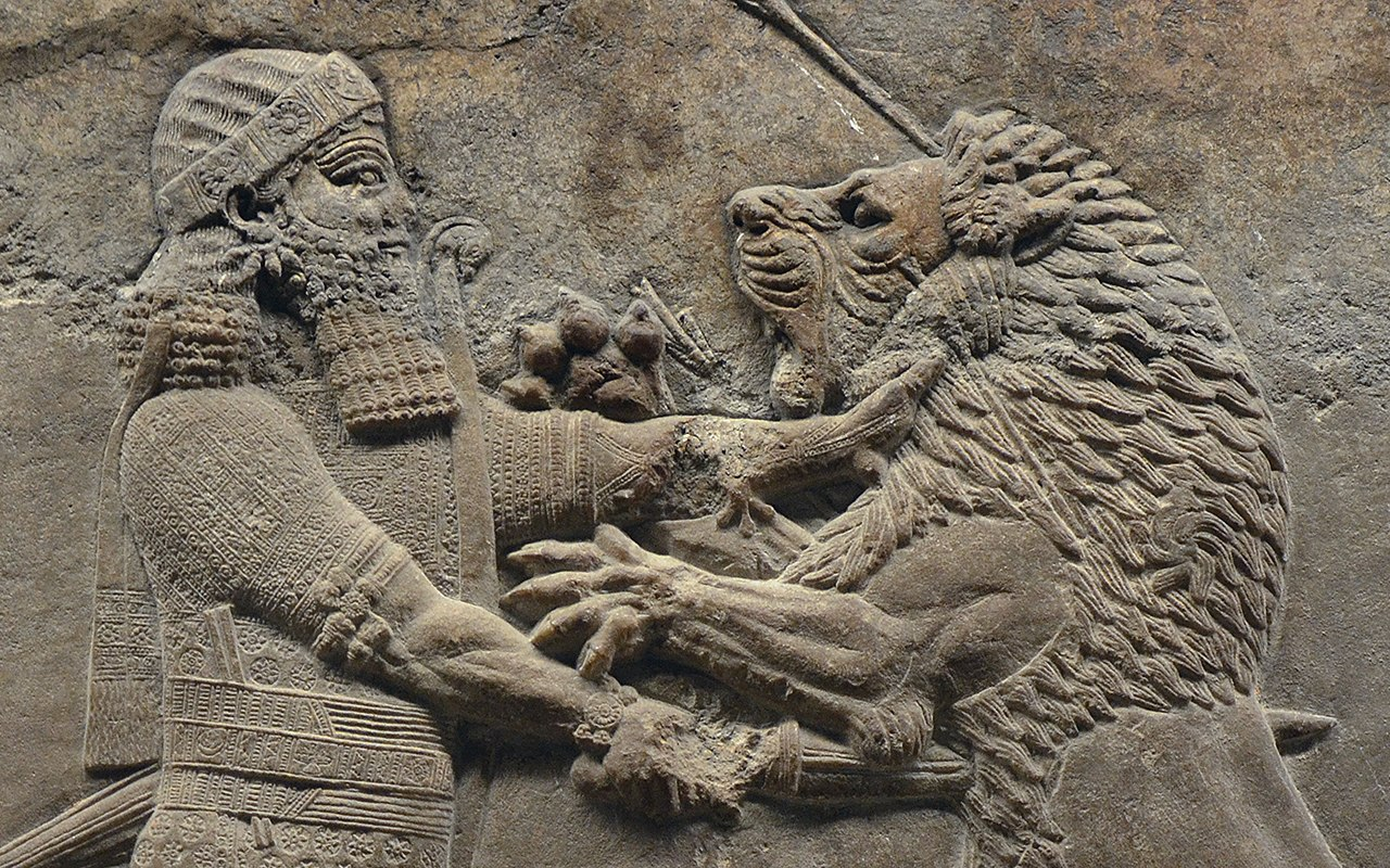 Filesculpted Reliefs Depicting Ashurbanipal The Last Great