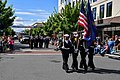 Sea Cadets assigned to the U.S. Naval Sea Cadet Corps, A-41 Scorpion Squadron, march during the Bremerton Armed Forces Day Parade.jpg