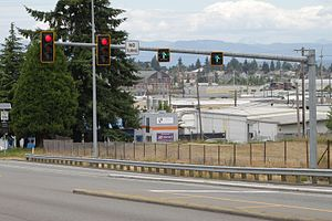 Seagull intersection - Image: Seagull intersection CGTL on Broadway in Everett, Washington (flickr 18779519629)