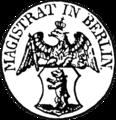 Seal of Berlin 1846 (Magistrat).png