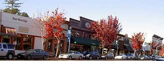 Sebastopol, California - Main Street in Downtown Sebastopol