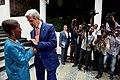 Secretary Kerry Bids Farewell to Rwandan Foreign Minister Mushikiwabo in Kigali (30210632172).jpg