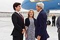 Secretary Kerry Chats With Ambassador Caroline Kennedy, and Her Son Jack Schlossberg (26271407591).jpg