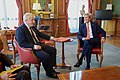 Secretary Kerry Sits With Newly Installed British Foreign Secretary Johnson at his Office in London (28335624871).jpg