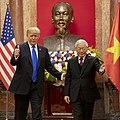 Secretary Pompeo Joins President Trump in Meetings with Vietnamese President Nguyễn Phú Trọng (47173470062).jpg
