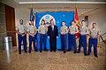 Secretary Tillerson Meets With the Marine Security Guard Detachment (38897916210).jpg