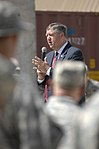 Secretary of the Air Force Michael Donley speaks with airmen of the 438th Air Expeditionary Wing at Kabul IAP(2).jpg