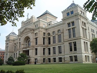 Sedgwick County, Kansas - Image: Sedgwick county kansas courthouse 2009