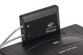 Sega Net Link attachment for the Sega Saturn