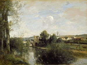 Seine and Old Bridge at Limay LACMA 39.12.3.jpg