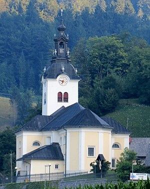 Selca, Železniki - Saint Peter's Church