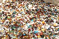 Semi-precious Stones waiting to be filled in plastic bags for a few rands ... (45594014304).jpg