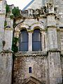 Senlis (60), ancienne église St-Aignan, vestige du clocher roman sud du XIe siècle, 03.09.2011.jpg