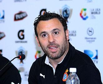 Sergio (footballer, born 1976) - Sergio as a coach of Espanyol in 2015