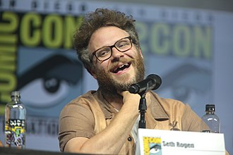 Seth Rogen - Rogen at the 2018 San Diego Comic-Con