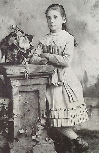Susan Glaspell - Glaspell, circa 1883.
