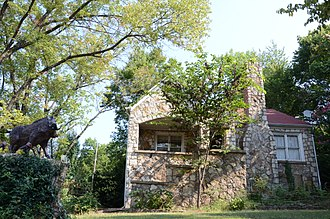 Sharp County, Arkansas - Image: Sherman Bates House