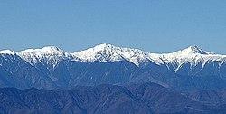 赤石 山脈