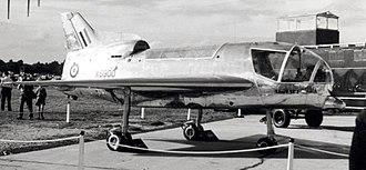 Short SC.1 - Short SC.1 XG900 at Farnborough SBAC Show September 1958