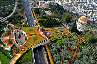 Haifa - Shrine of the Báb and the Bahá'í gardens on Mount Carmel
