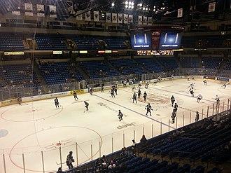 Mohegan Sun Arena at Casey Plaza - Image: Side angle view