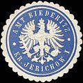 Siegelmarke Amt Biederitz - Kreis Jerichow I W0217538.jpg