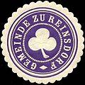 Siegelmarke Gemeinde zu Reinsdorf W0313171.jpg