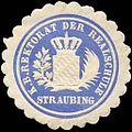 Siegelmarke Königlich Bayerische Rektorat der Realschule - Straubing W0225533.jpg