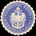 Siegelmarke Kaiserliche Marine - Kommando der S.M.S. Luchs W0262539.jpg